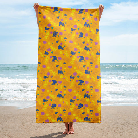 Yellow Summer Towel