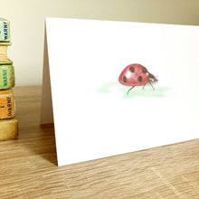 Load image into Gallery viewer, Ladybird Ladybug Greeting Card - Kerry Dawn Illustration