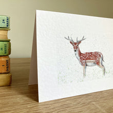 Load image into Gallery viewer, Deer Greeting Card - Kerry Dawn Illustration