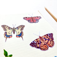 Load image into Gallery viewer, Large Butterfly Journal Stickers - Kerry Dawn Illustration