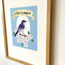 Load image into Gallery viewer, To Kill a Mockingbird Art Print - Kerry Dawn Illustration