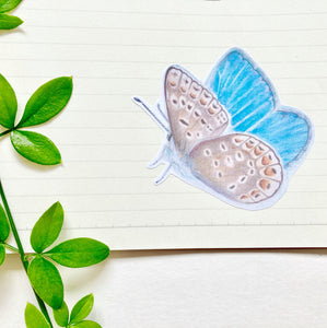 Large Butterfly Journal Stickers - Kerry Dawn Illustration