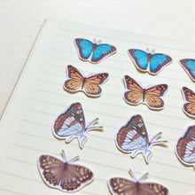 Load image into Gallery viewer, Small Butterfly Journal and Planner Stickers - Kerry Dawn Illustration