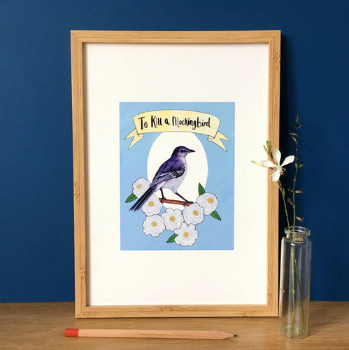 To Kill a Mockingbird Art Print - Kerry Dawn Illustration