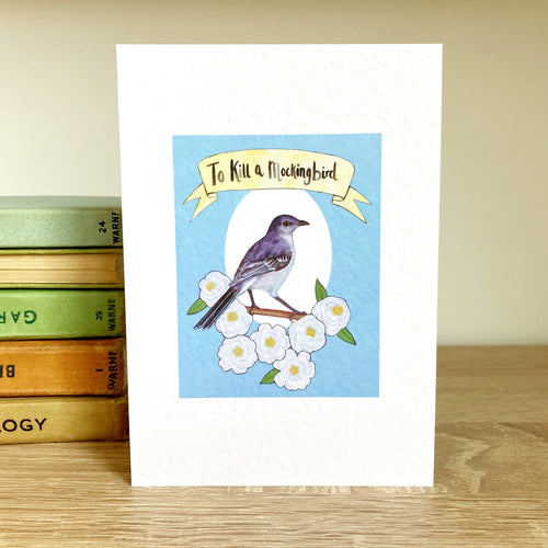 To Kill a Mockingbird Greeting Card - Kerry Dawn Illustration