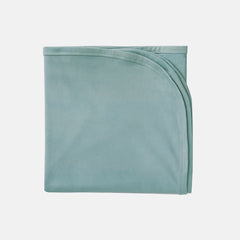 Aquifer Teal Bamboo Stretch Swaddle