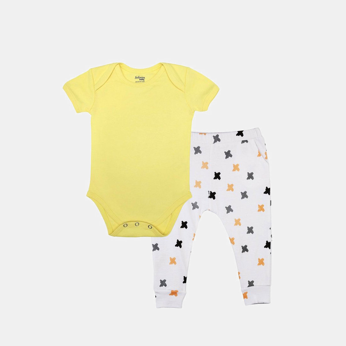 2-Piece Sweet Sunshine Bodysuit & Knit Pants Set