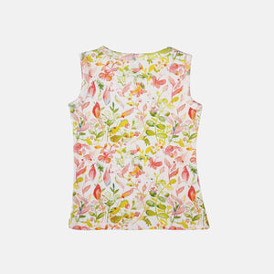 Floral Fun Soft Jersey Top