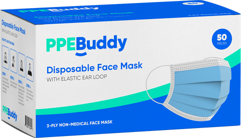 50 Piece 3 Ply Mask Box