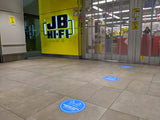 Floor Decal - 1.5m Social Distancing