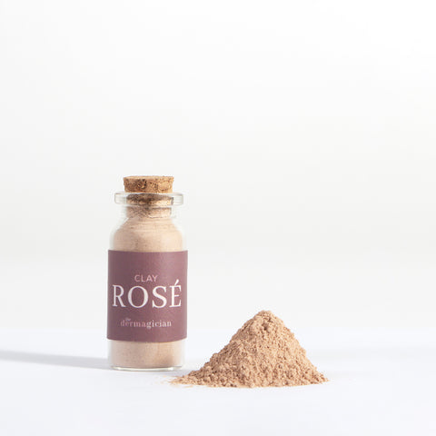 Clay Rosé Powdered Clay Face Mask The Dermagician