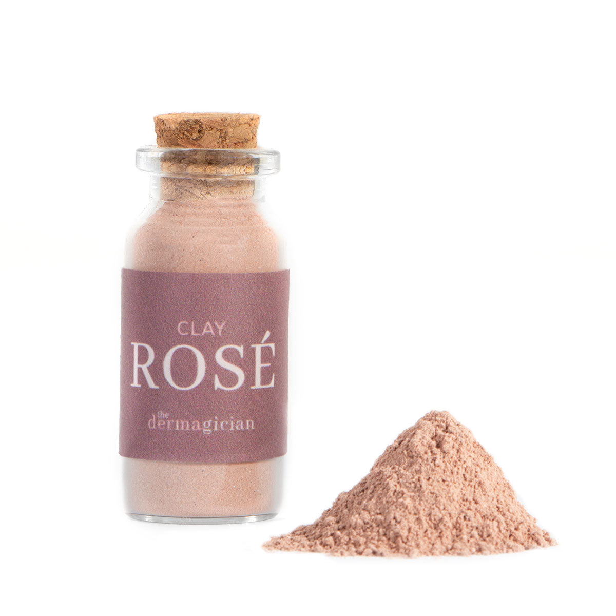 Clay Rosé Powdered Clay Mask - Box of 4