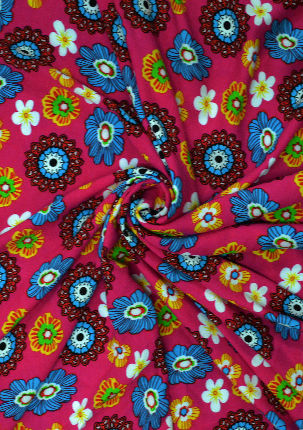 """Designer Soft Touch Crepe Red Cherries Printed fabric 60/"""" Wide D#122"""