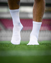 Load image into Gallery viewer, Pure Grip Socks White