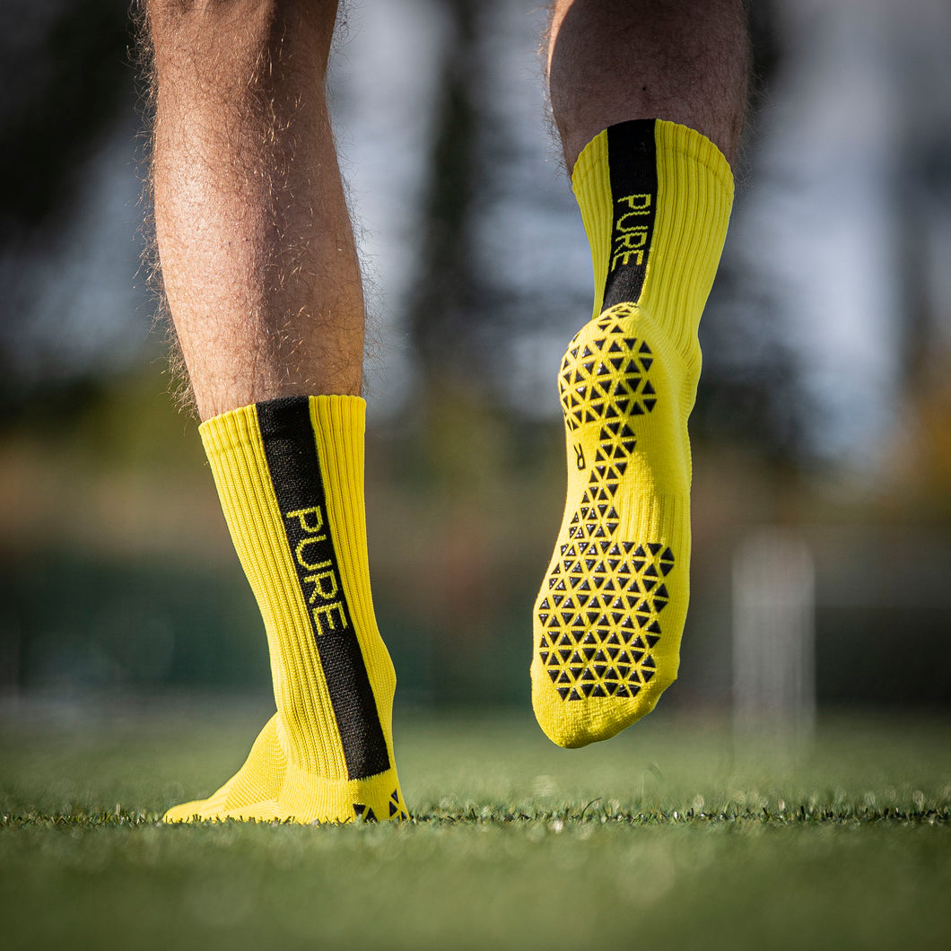 Pure Grip Socks Yellow