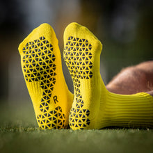 Load image into Gallery viewer, Pure Grip Socks Yellow