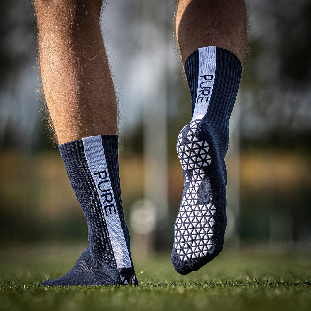 Pure Grip Socks Navy Blue