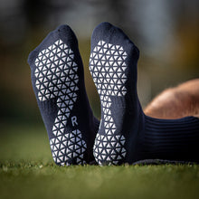 Load image into Gallery viewer, Pure Grip Socks Navy Blue