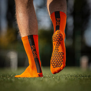 Pure Grip Socks Orange