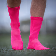 Load image into Gallery viewer, Pure Grip Socks Pink