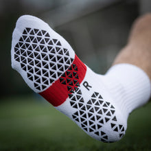 Load image into Gallery viewer, Pure Grip Socks Pro White