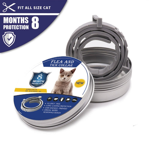 Dog & Cat Collar 8 Month Flea & Tick Prevention