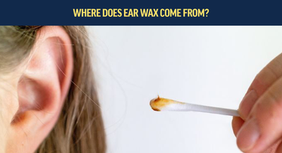 Where does ear wax come from?