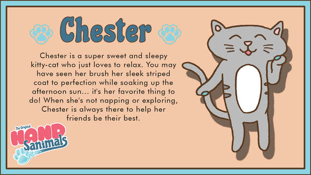 Chester the Cat 1