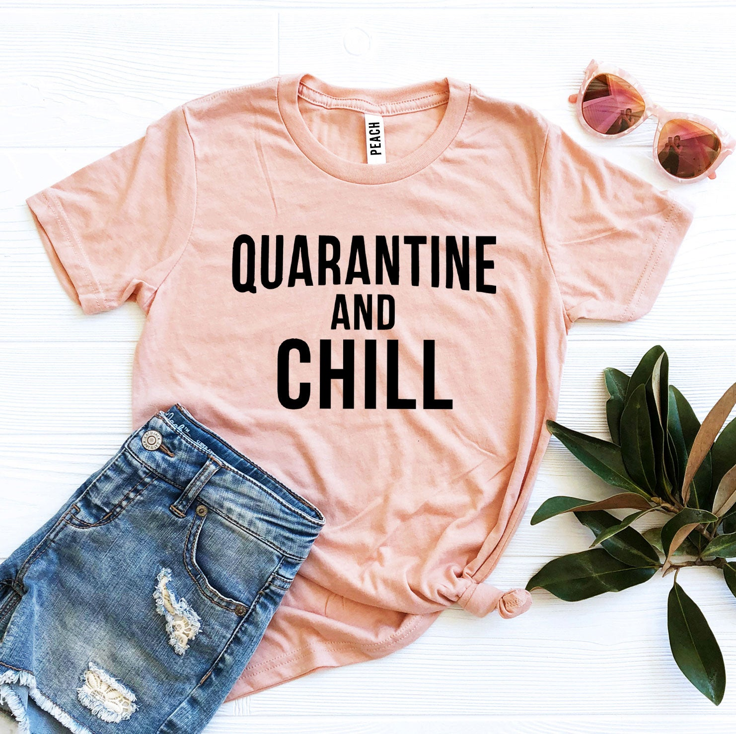 Quarantine & Chill T-shirt