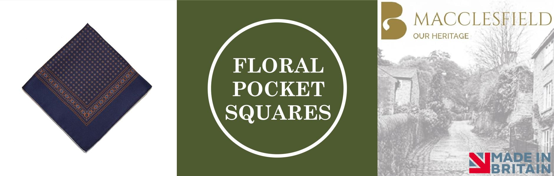 Floral Silk Pocket Squares