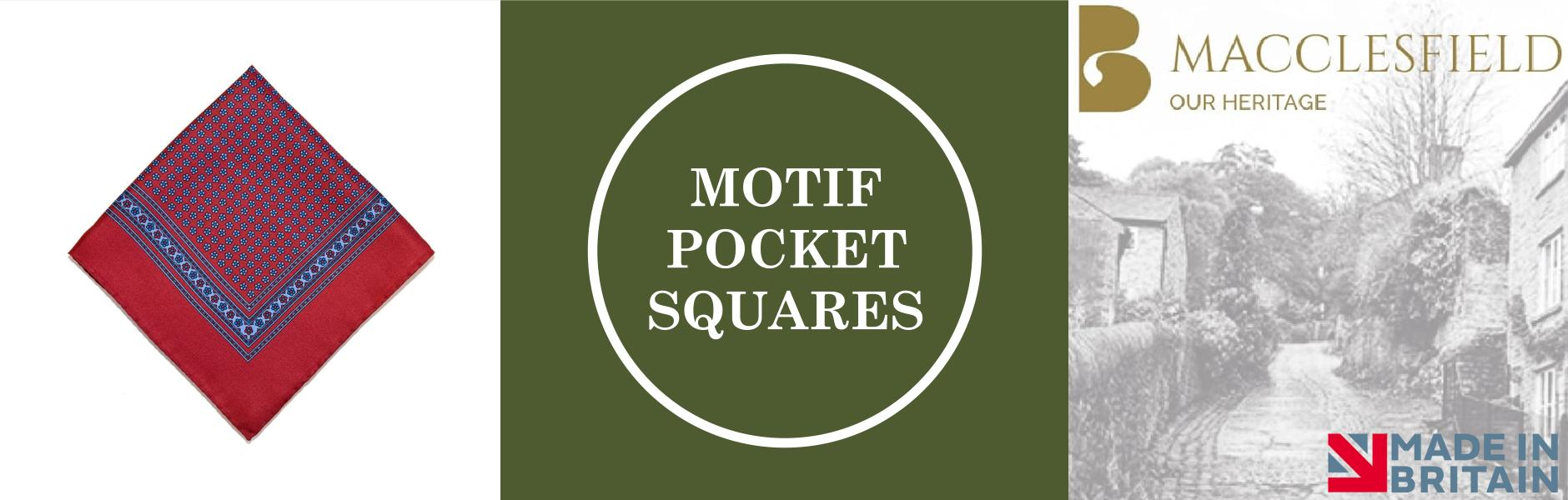 Motif Silk Pocket Squares