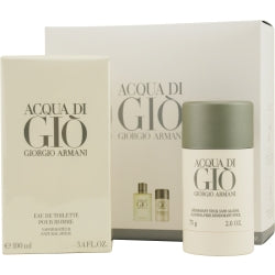 Giorgio Armani Gift Set Acqua Di Gio By Giorgio Armani  -  Giorgio Armani - The Perfume Bazaar -www.theperfumebazaar.com - Gift Sets Fragrances for Men