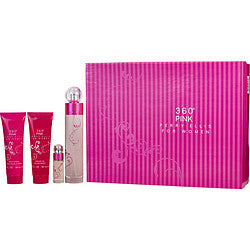 Perry Ellis Gift Set Perry Ellis 360 Pink By Perry Ellis  -  Perry Ellis - The Perfume Bazaar -www.theperfumebazaar.com - Gift Sets Fragrances for Women