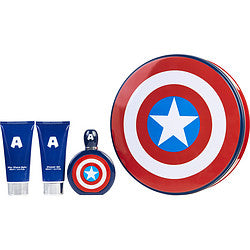 Marvel Gift Set Captain America By Marvel  -  Marvel - The Perfume Bazaar -www.theperfumebazaar.com - Gift Sets Fragrances for Men