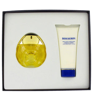 BOUCHERON by Boucheron Gift Set -- 1.7 oz Eau De Toilette Spray + 3.4 oz Body Lotion for Women  -  Boucheron - The Perfume Bazaar -www.theperfumebazaar.com - Boucheron, Women Fragrances for W