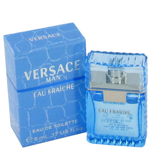 Versace Man by Versace Mini Eau Fraiche .17 oz for Men  -  Versace - The Perfume Bazaar -www.theperfumebazaar.com - 5 ml, Men, Versace Fragrances for Men