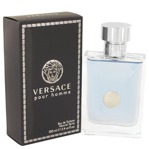 Versace Pour Homme by Versace Eau De Toilette Spray for Men  -  Versace - The Perfume Bazaar -www.theperfumebazaar.com - 100 ml, Men, Versace Fragrances for Men