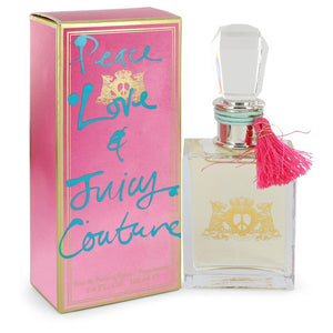 Peace Love & Juicy Couture by Juicy Couture Eau De Parfum Spray for Women  -  Juicy Couture - The Perfume Bazaar -www.theperfumebazaar.com - 100 ml, Juicy Couture, Women Fragrances for Women