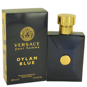 Versace Pour Homme Dylan Blue by Versace Deodorant for Men  -  Versace - The Perfume Bazaar -www.theperfumebazaar.com - 100 ml, Men, Versace Fragrances for Men