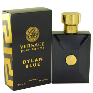 Versace Pour Homme Dylan Blue by Versace After Shave Lotion 3.4 oz for Men  -  Versace - The Perfume Bazaar -www.theperfumebazaar.com - 100 ml, Men, Versace Fragrances for Men