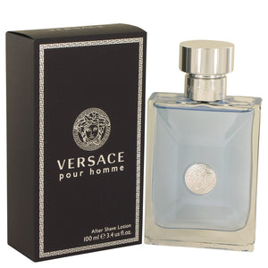 Versace Pour Homme by Versace After Shave Lotion 3.4 oz for Men  -  Versace - The Perfume Bazaar -www.theperfumebazaar.com - 100 ml, Men, Versace Fragrances for Men