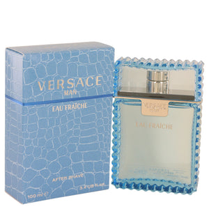 Versace Man by Versace Eau Fraiche After Shave 3.4 oz for Men  -  Versace - The Perfume Bazaar -www.theperfumebazaar.com - 100 ml, Men, Versace Fragrances for Men