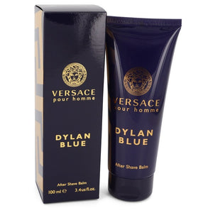 Versace Pour Homme Dylan Blue by Versace After Shave Balm 3.4 oz for Men  -  Versace - The Perfume Bazaar -www.theperfumebazaar.com - 100 ml, Men, Versace Fragrances for Men
