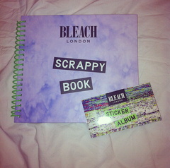Bleach London Scrappy Book & Stickers (Camera Not Included)