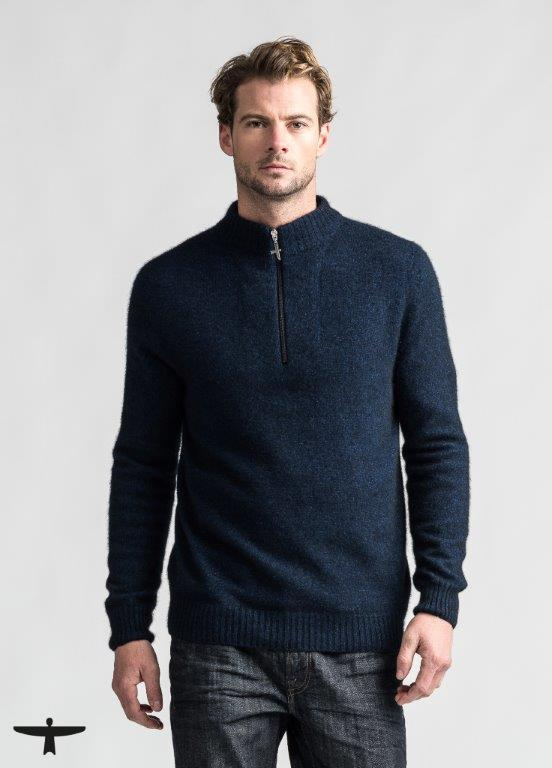 Estuary 1/2 Zip UW Mens Sweater Untouched World