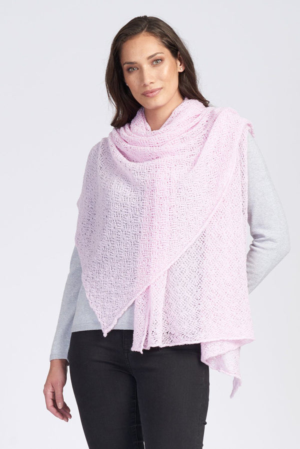 Lace Wrap Women Wrap Royal Merino