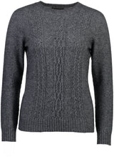 Ladies Crew Neck/Lace Detail Possum Merino Not specified