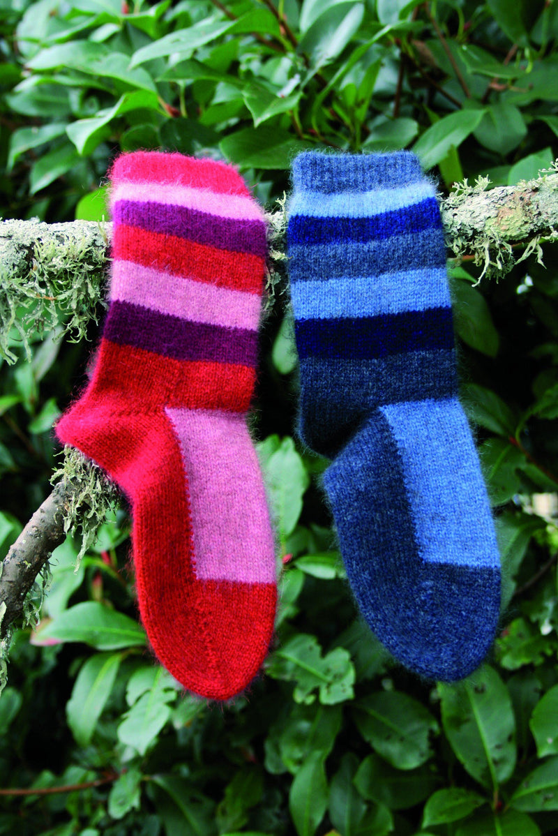Child's Striped Sock Kids Socks Lothlorian
