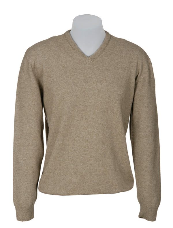 V Neck plain Sweater 2