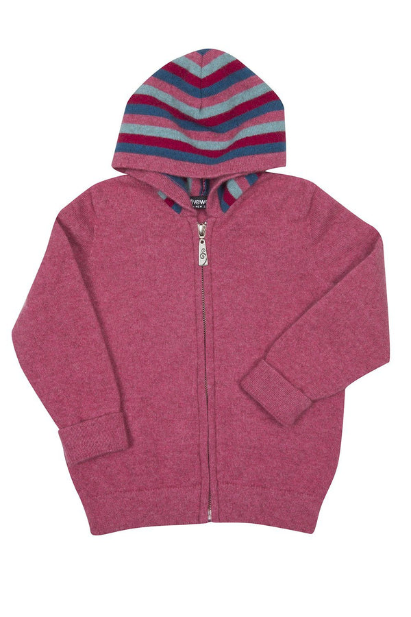 Striped Zip Hoody kids Kids Hoodie Native World
